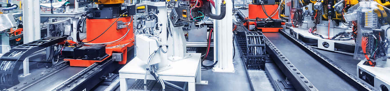 automatic production process in the manufacturing industry