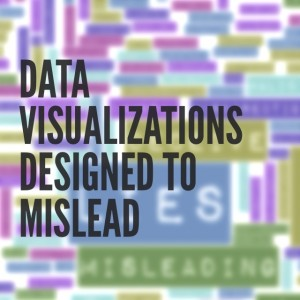 Data Visualizations Designed to Mislead