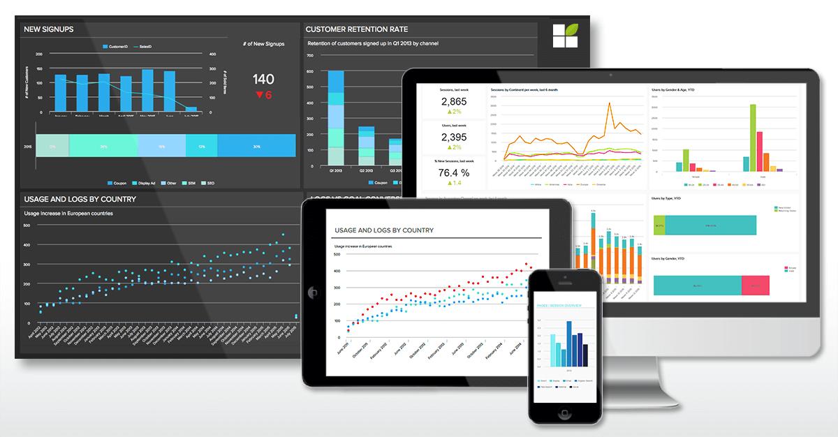 datapine's self-service BI Tool