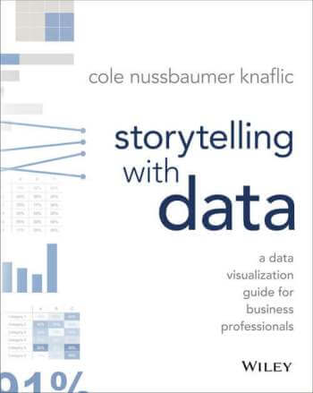"""Storytelling With Data: A Data Visualization Guide for Business Professionals"" by Cole Nussbaumer Knaflic"