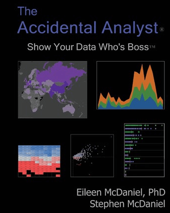 """The Accidental Analyst: Show Your Data Who's Boss"" by Eileen and Stephen McDaniel"