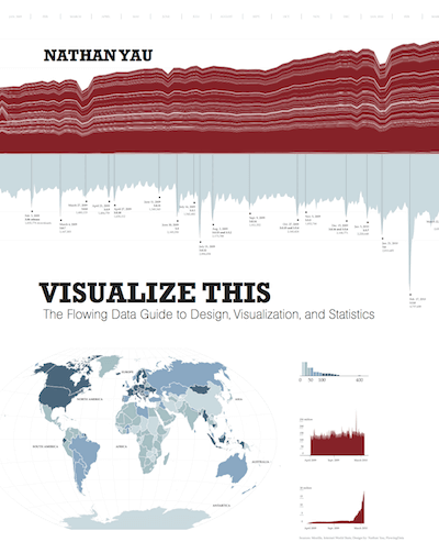 """Visualize This: The Flowing Data Guide to Design, Visualization, and Statistics"" by Nathan Yau"
