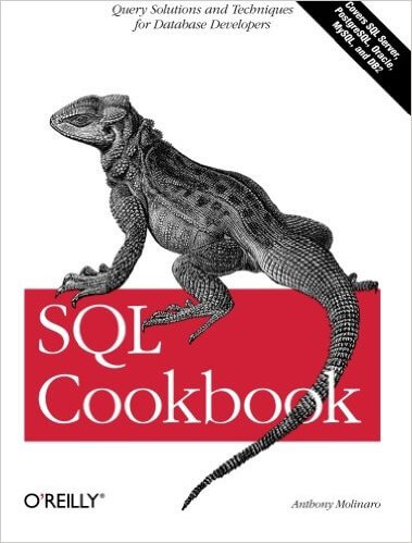 SQL cook book by anthony molinaro
