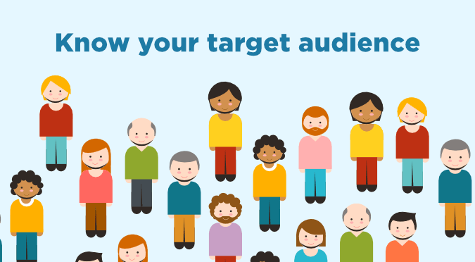 Know your target audience when building your report