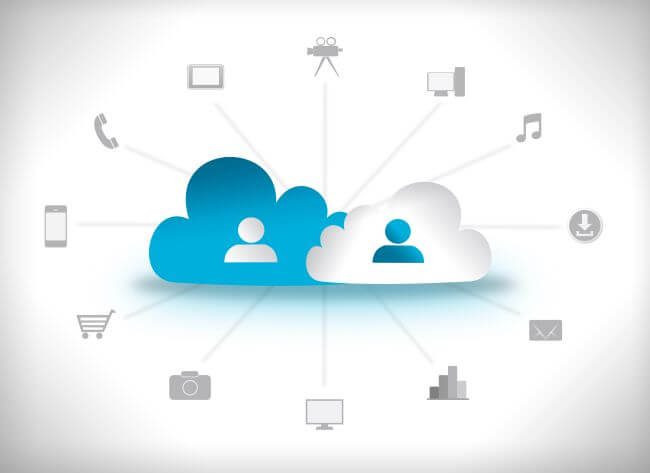 image illustrating how the cloud is working