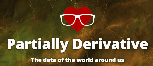 Partially Derivative, the podcasts about data of the world around us