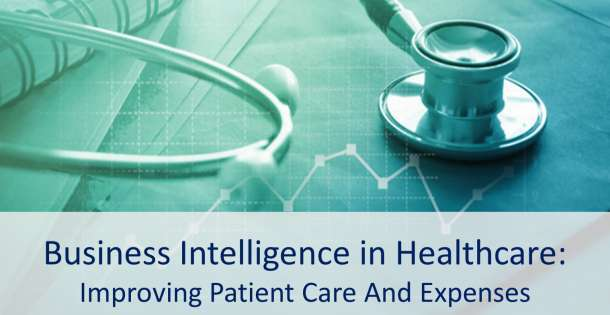 Applications of Business Intelligence in healthcare can greatly improve patient care, and the hospitals' finances