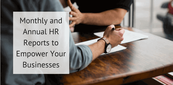 Monthly and annual HR report templates to help you empower your business