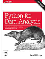 book on data science: Python for Data Analysis