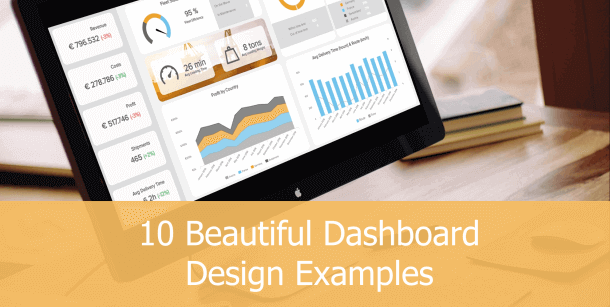 great dashboard designs for your KPI reports