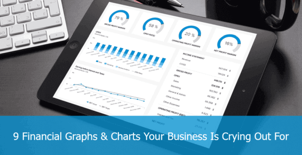 example of financial graphs for your business