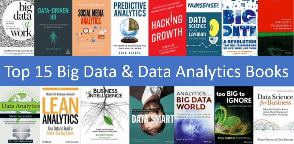 Visual overview of big data and data analytics books