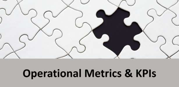Header image visualizing the operational metrics and KPIs title with a puzzle