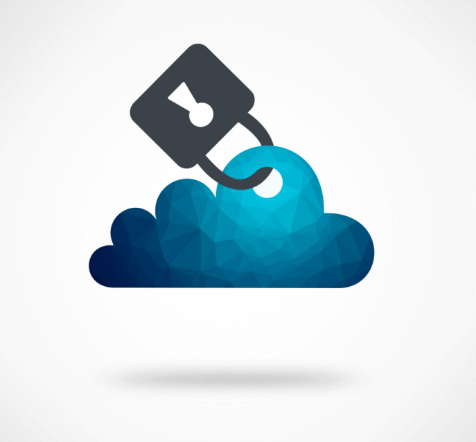 Digital clouds locked as a mean of security
