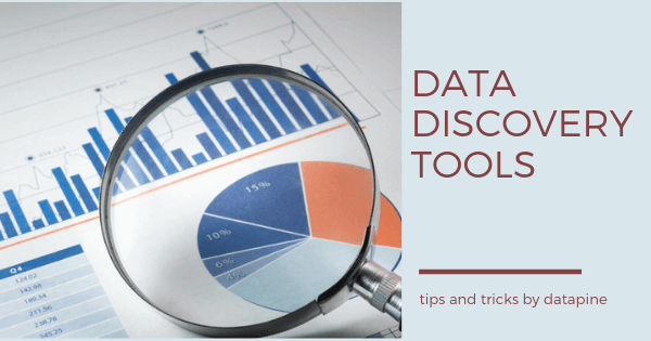 Data discovery tools by datapine