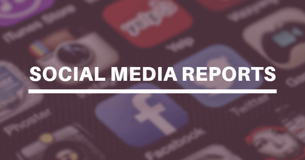 social media reports examples and templates