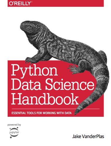 Best data science book: Python data science handbook by Jake VanderPlas