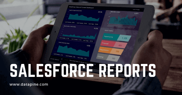 Salesforce reports by datapine