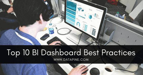 Top 10 BI dashboard best practices by datapine