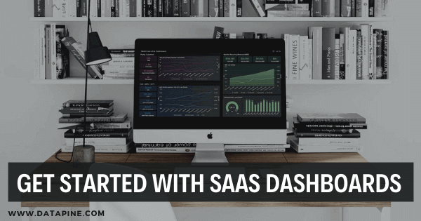 SaaS dashboard by datapine