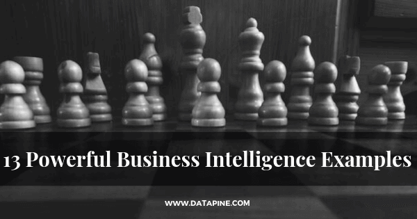 Business intelligence examples by datapine