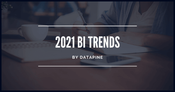 Business intelligence trends for 2020 by datapine