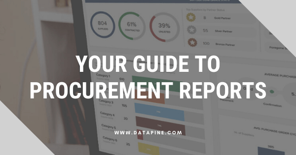 A guide to procurement reports by datapine