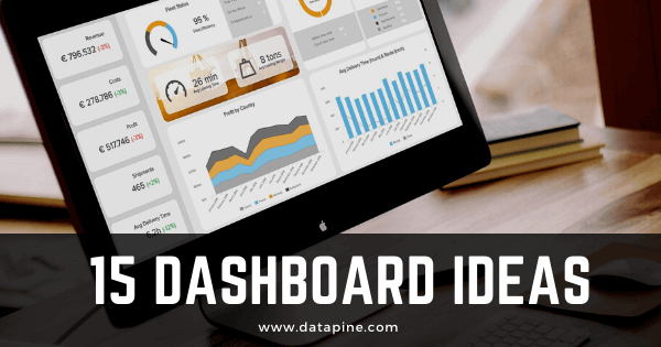 Top 15 dashboard ideas by datapine.
