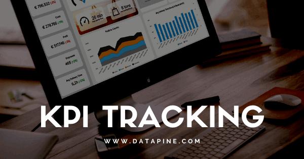 KPI tracking by datapine