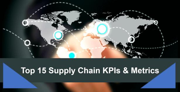 Top 15 supply chain metrics and KPIs by datapine.