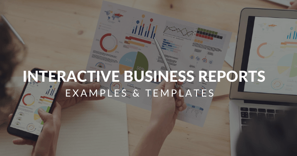 Business reports examples and templates for managers by datapine
