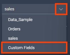 Where to find the calculated fields in datapine