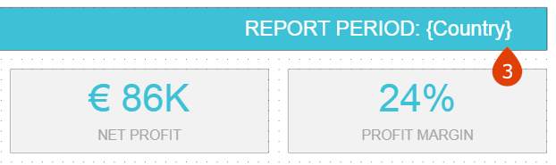 How to create a dynamic text filter in a datapine dashboard