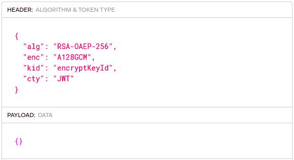 RSA Token Example