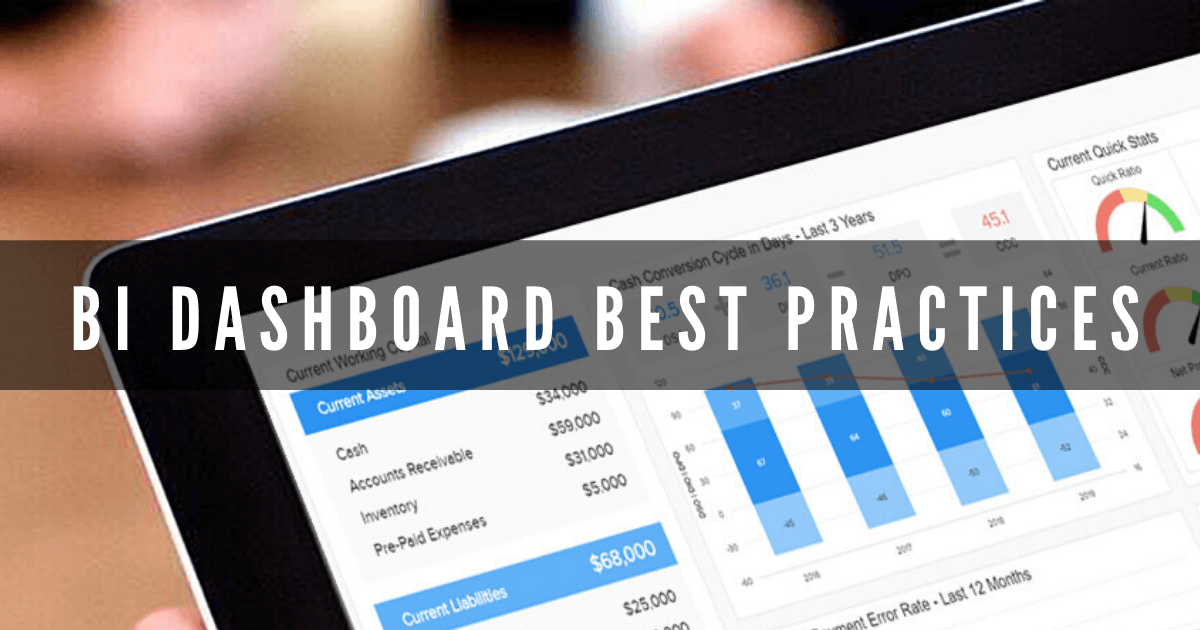 10 Business Intelligence Dashboard Best Practices & Examples