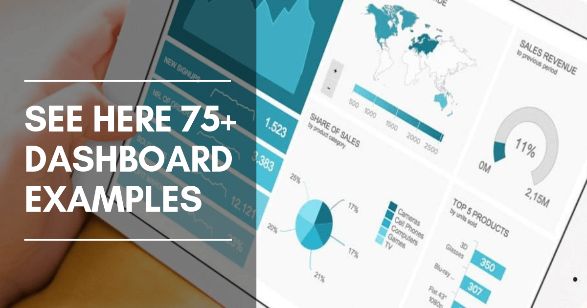 Get Business Dashboard Examples & Templates For Every Use Case