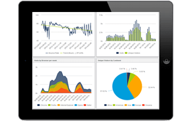 mobile acess to datapine's busines intelligence software
