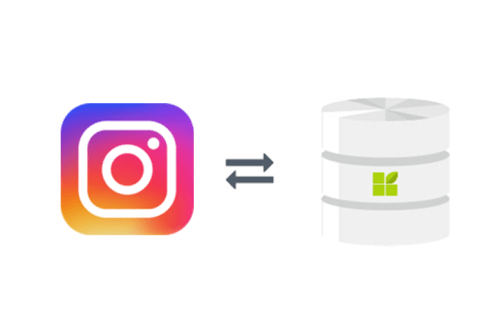 Instagram connection to datapine